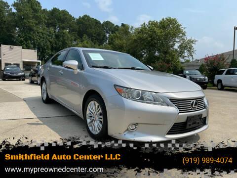 2014 Lexus ES 350 for sale at Smithfield Auto Center LLC in Smithfield NC