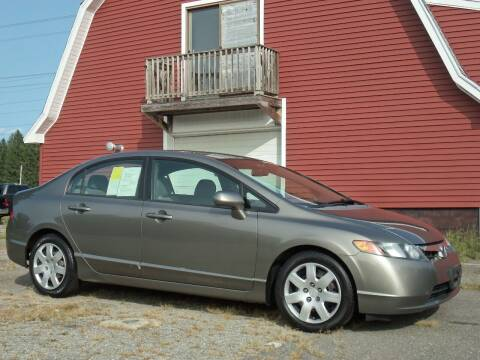 2008 Honda Civic for sale at Red Barn Motors, Inc. in Ludlow MA