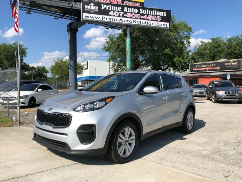 2018 Kia Sportage for sale at Prime Auto Solutions in Orlando FL