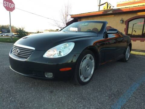 2002 Lexus SC 430 for sale at Best Buy Autos in Mobile AL