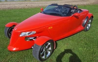 1999 Plymouth Prowler for sale at Classic Car Deals in Cadillac MI