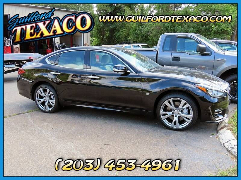 2015 Infiniti Q70 for sale at GUILFORD TEXACO in Guilford CT