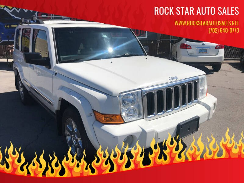 2007 Jeep Commander for sale at Rock Star Auto Sales in Las Vegas NV