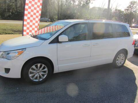2012 Volkswagen Routan for sale at Colvin Auto Sales in Tuscaloosa AL
