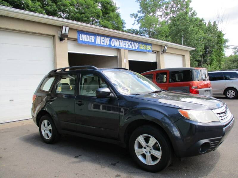 2011 Subaru Forester for sale at Precision Automotive Group in Youngstown OH