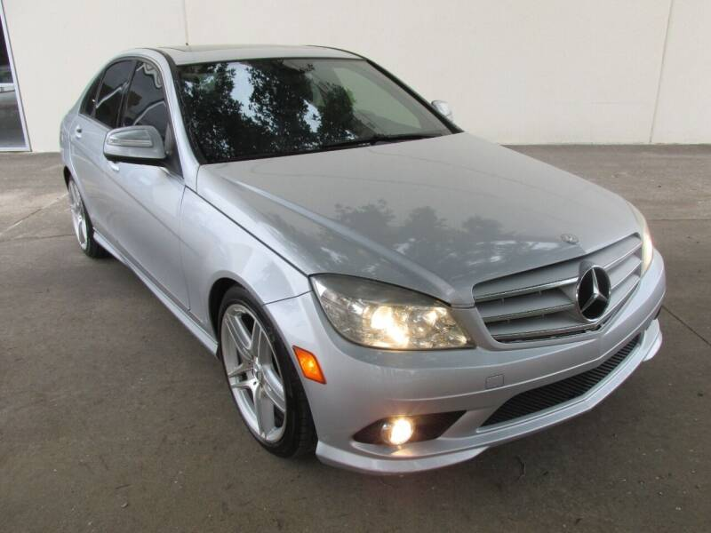 2009 Mercedes-Benz C-Class for sale at QUALITY MOTORCARS in Richmond TX