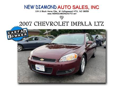 2007 Chevrolet Impala for sale at New Diamond Auto Sales, INC in West Collingswood NJ