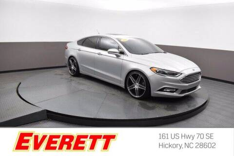 2018 Ford Fusion for sale at Everett Chevrolet Buick GMC in Hickory NC