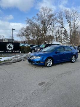 2011 Ford Fusion for sale at Station 45 Auto Sales Inc in Allendale MI