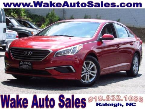 2016 Hyundai Sonata for sale at Wake Auto Sales Inc in Raleigh NC