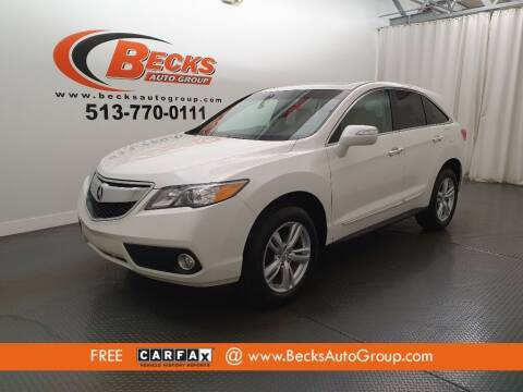 2013 Acura RDX for sale at Becks Auto Group in Mason OH