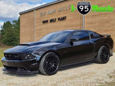 2012 Ford Mustang for sale at I-95 Muscle in Hope Mills NC