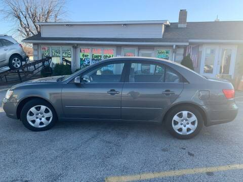 2009 Hyundai Sonata for sale at Revolution Motors LLC in Wentzville MO