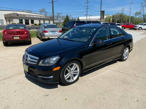 2013 Mercedes-Benz C-Class for sale at Bob Waterson Motorsports in South Elgin IL