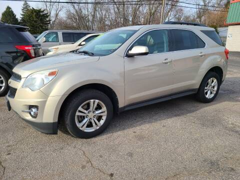 2012 Chevrolet Equinox for sale at Johnny's Motor Cars in Toledo OH