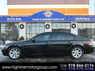 2008 BMW 7 Series for sale at Highline Group Motorsports in Lowell MA