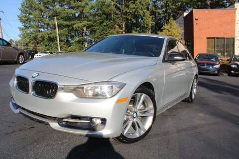 2013 BMW 3 Series for sale at Atlanta Unique Auto Sales in Norcross GA