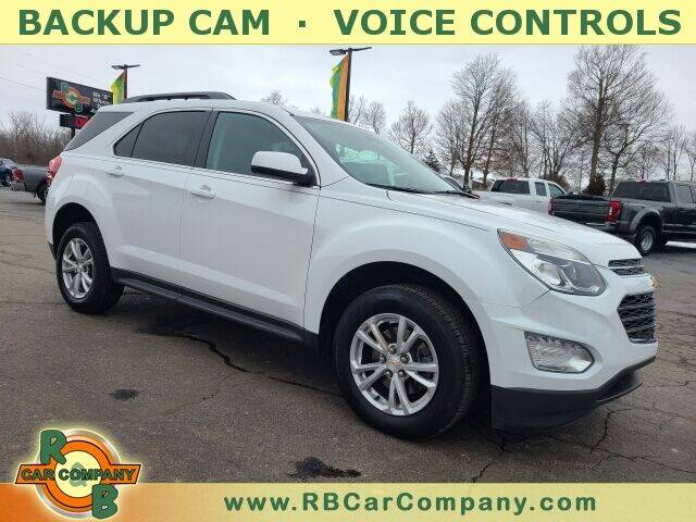 2016 Chevrolet Equinox for sale at R & B CAR CO - R&B CAR COMPANY in Columbia City IN