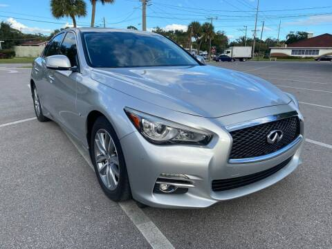 2015 Infiniti Q50 for sale at LUXURY AUTO MALL in Tampa FL