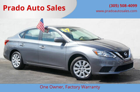 2017 Nissan Sentra for sale at Prado Auto Sales in Miami FL