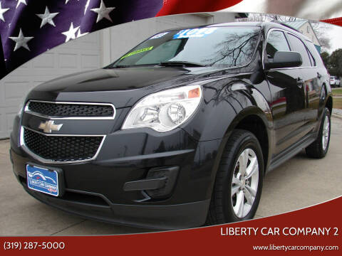 2013 Chevrolet Equinox for sale at Liberty Car Company - II in Waterloo IA