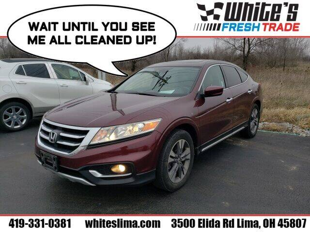 2013 Honda Crosstour for sale at White's Honda Toyota of Lima in Lima OH
