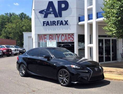 2014 Lexus IS 350 for sale at AP Fairfax in Fairfax VA