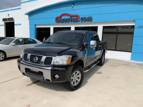 2004 Nissan Titan for sale at ETS Autos Inc in Sanford FL