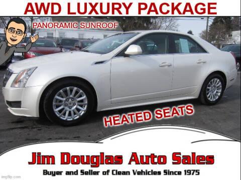 2011 Cadillac CTS for sale at Jim Douglas Auto Sales in Pontiac MI