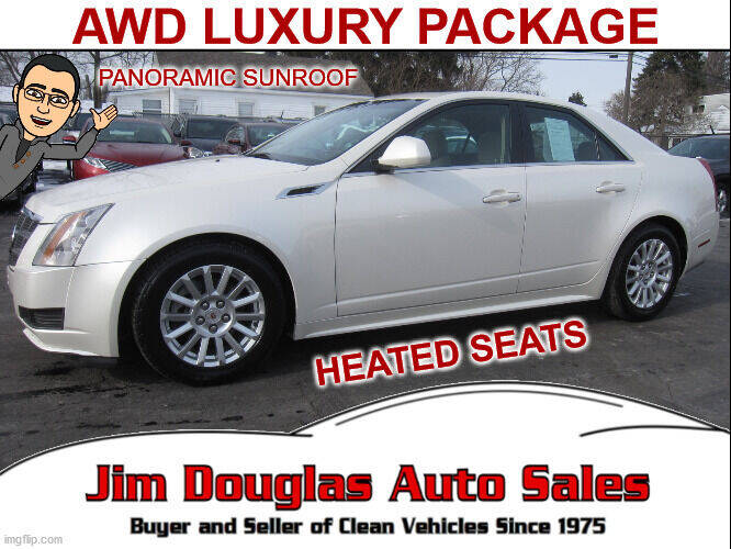 2011 Cadillac CTS for sale at Jim Douglas Auto Sales in Pontiac MI