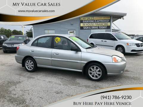 2005 Kia Rio for sale at My Value Car Sales - Upcoming Cars in Venice FL