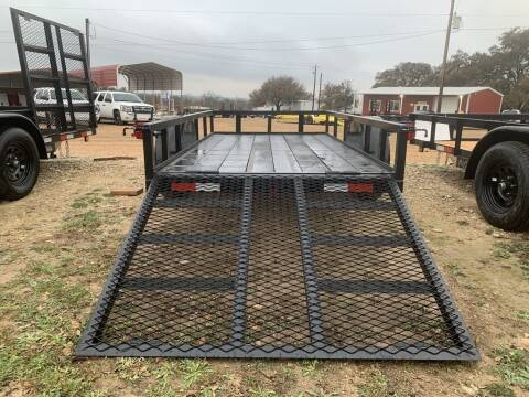 2021 P & C  - Utility 5' X 10'- IN &  for sale at LJD Sales in Lampasas TX