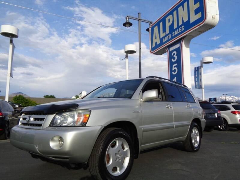 2006 Toyota Highlander for sale at Alpine Auto Sales in Salt Lake City UT