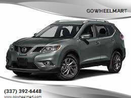 2016 Nissan Rogue for sale at GOWHEELMART in Leesville LA