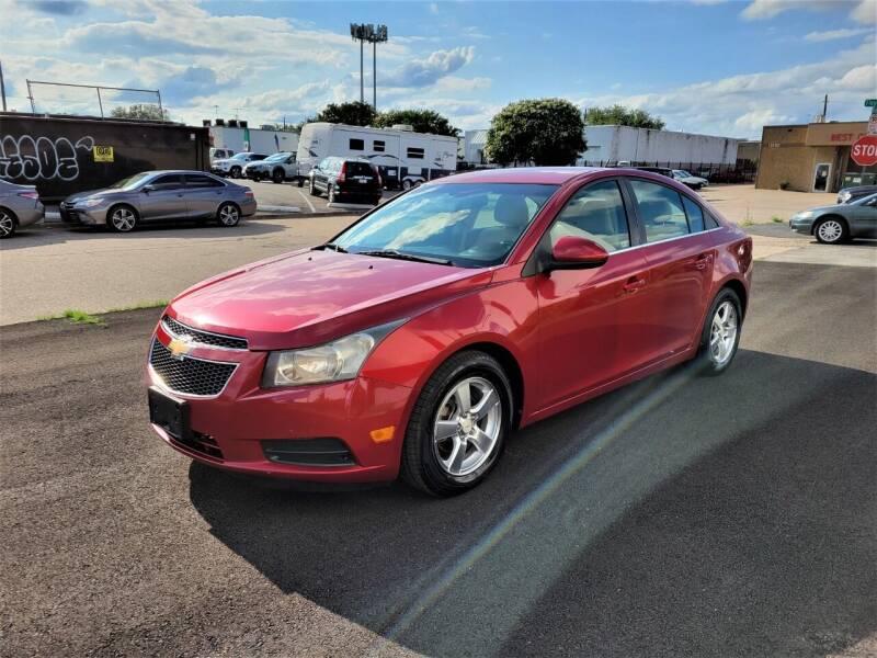 2011 Chevrolet Cruze for sale at Image Auto Sales in Dallas TX