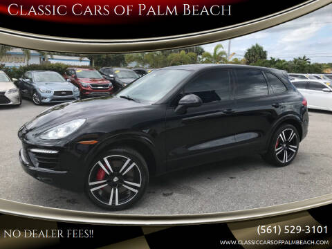 2014 Porsche Cayenne for sale at Classic Cars of Palm Beach in Jupiter FL