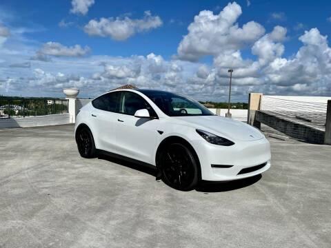 2021 Tesla Model Y for sale at AUTOSPORT MOTORS in Lake Park FL