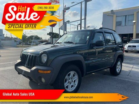2003 Jeep Liberty for sale at Global Auto Sales USA in Miami FL