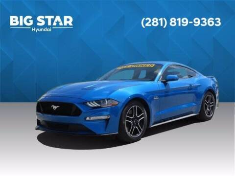 2019 Ford Mustang for sale at BIG STAR HYUNDAI in Houston TX