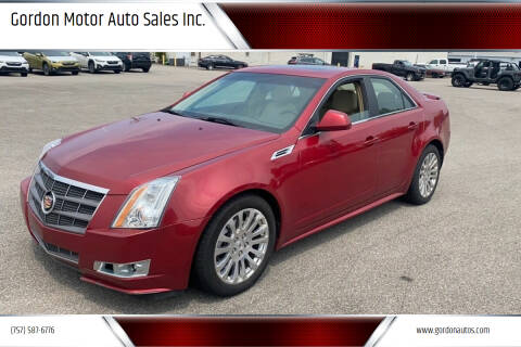 2010 Cadillac CTS for sale at Gordon Motor Auto Sales Inc. in Norfolk VA