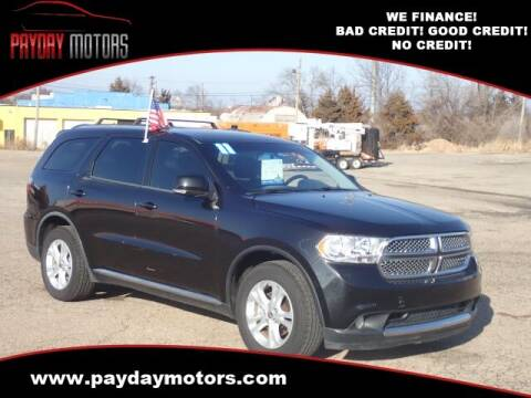 2011 Dodge Durango for sale at Payday Motors in Wichita And Topeka KS