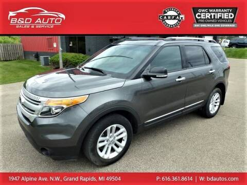 2015 Ford Explorer for sale at B&D Auto Sales Inc in Grand Rapids MI