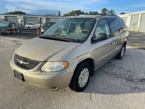 2003 Chrysler Town and Country for sale at DAVINA AUTO SALES in Orlando FL
