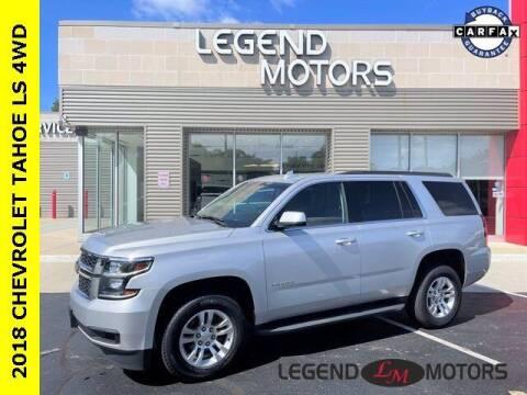 2018 Chevrolet Tahoe for sale at Legend Motors of Waterford in Waterford MI