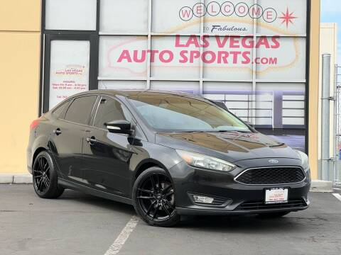 2015 Ford Focus for sale at Las Vegas Auto Sports in Las Vegas NV