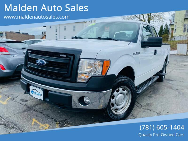 2014 Ford F-150 for sale at Malden Auto Sales in Malden MA