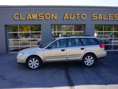 2009 Subaru Outback for sale at Clawson Auto Sales in Clawson MI