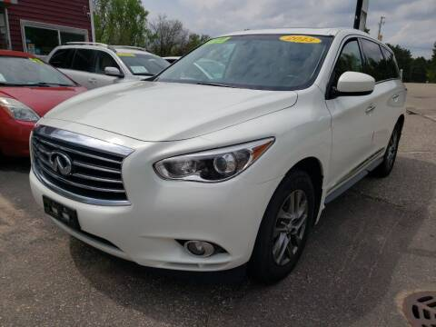 2013 Infiniti JX35 for sale at Hwy 13 Motors in Wisconsin Dells WI