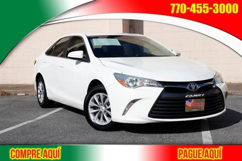 2016 Toyota Camry for sale at El Compadre Trucks in Doraville GA
