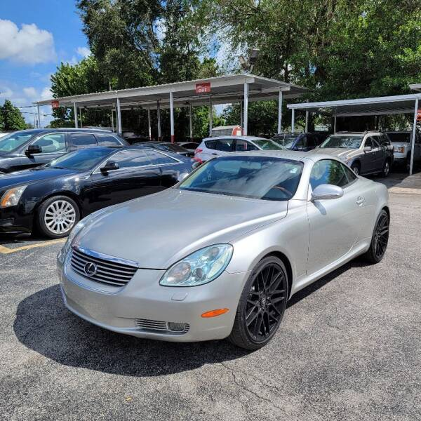 2002 Lexus SC 430 for sale at America Auto Wholesale Inc in Miami FL